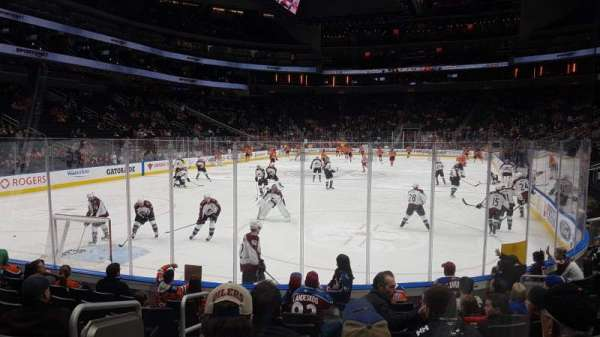 Rogers Place, section: 109, row: 9, seat: 10
