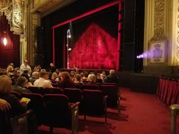 Hollywood Pantages Theatre, section: Orchestra R, row: M, seat: 4