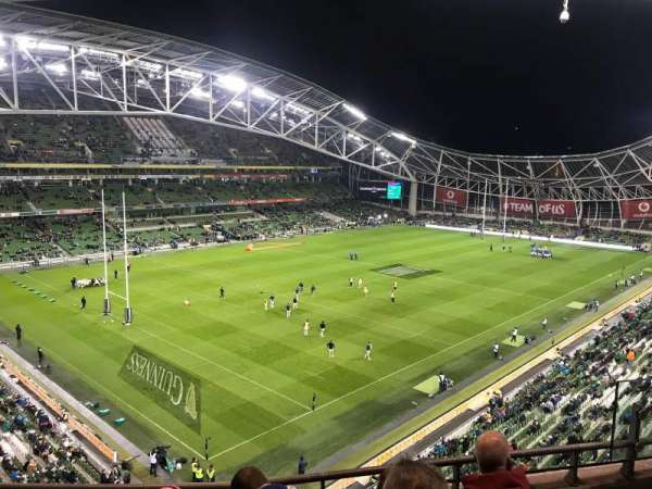 Aviva Stadium, section: 510, row: D, seat: 20