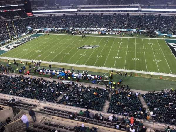 Lincoln Financial Field, section: 227, row: 1