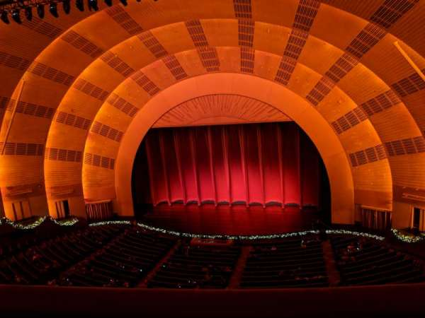 Radio City Music Hall, section: 2nd Mezzanine 3, row: A, seat: 301and302