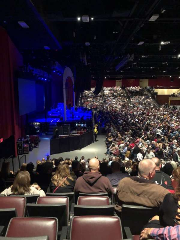 Hard Rock Live at Etess Arena, section: 214, row: P, seat: 8