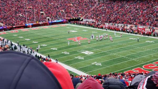 Memorial Stadium (Lincoln), section: 20, row: 77, seat: 5