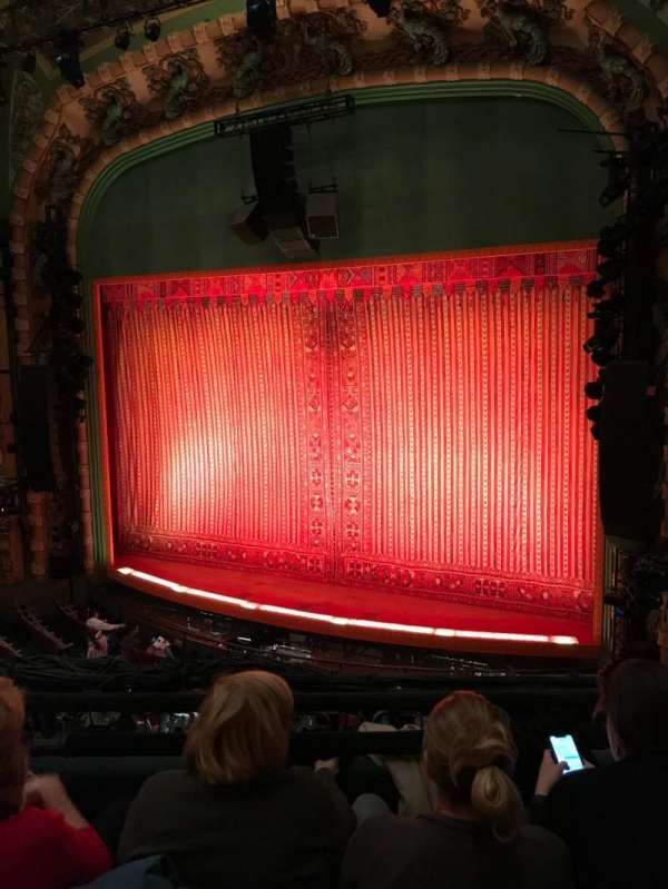 New Amsterdam Theatre Section Mezzanine Row Cc Seat 12