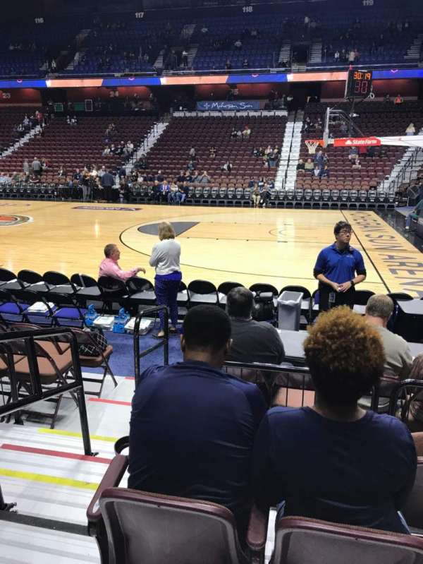 Mohegan Sun Arena, section: 14, row: F, seat: 11