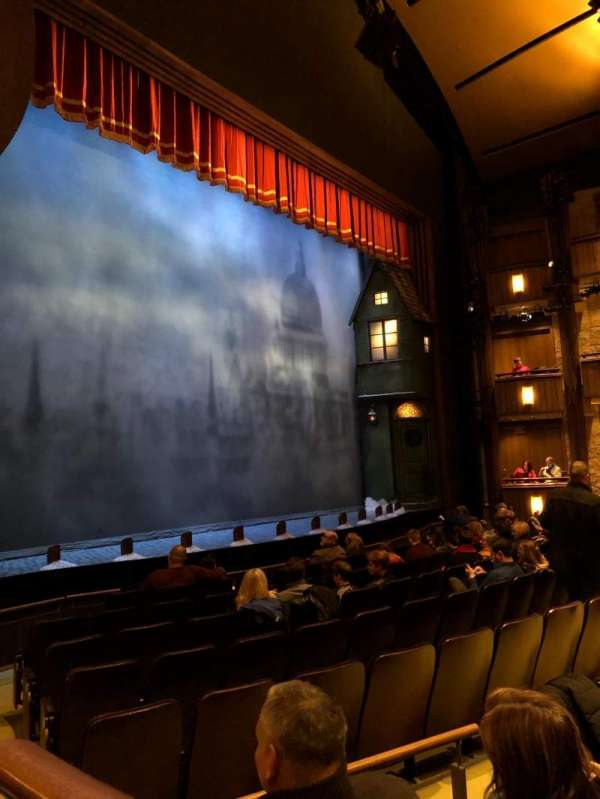 Goodman Theatre - Albert Theatre, section: Box 4, seat: 2