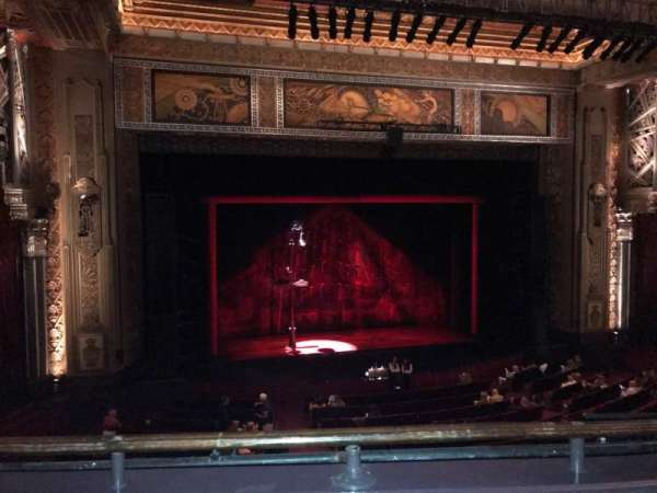 Hollywood Pantages Theatre, section: LC, row: B, seat: 307