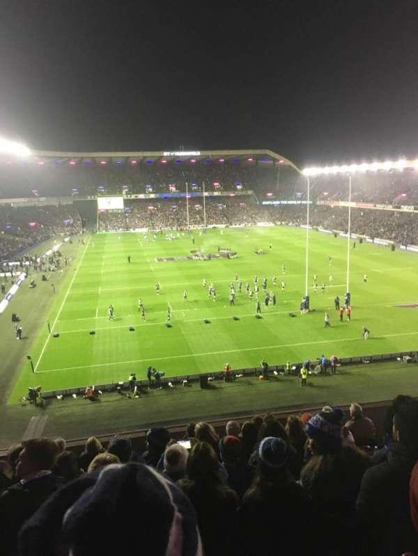 Murrayfield Stadium, section: S20, row: X, seat: 6