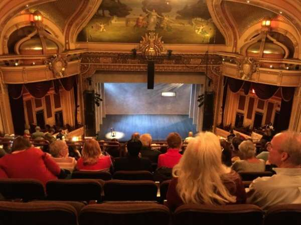 Hippodrome Theatre, section: Center Upper Balcony, row: R, seat: 306