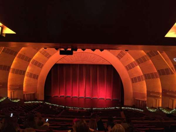 Radio City Music Hall, section: 2nd Mezzanine 3, row: J, seat: 304