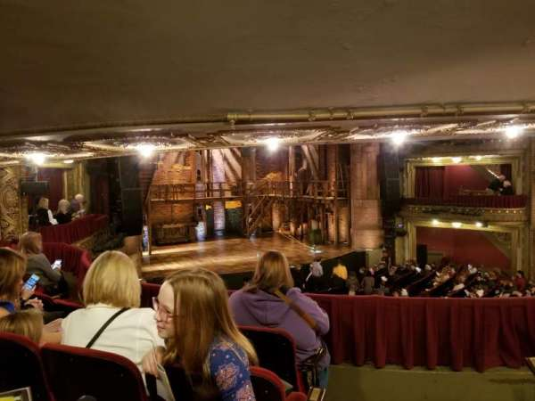 CIBC Theatre, section: Dress Circle L, row: D, seat: 3