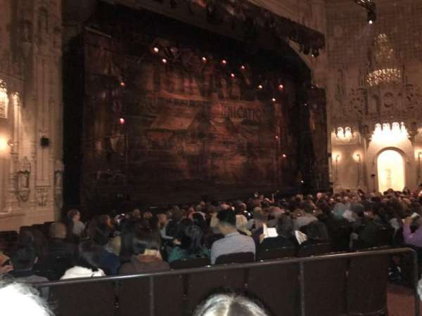 Orpheum Theatre (San Francisco), section: Orchestra Left, row: T, seat: 15