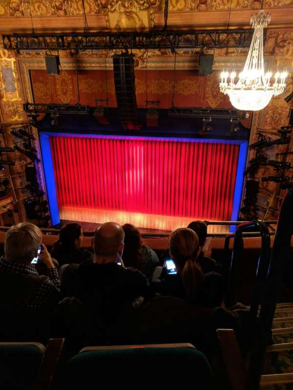Longacre Theatre, section: Center Balcony, row: D, seat: 101