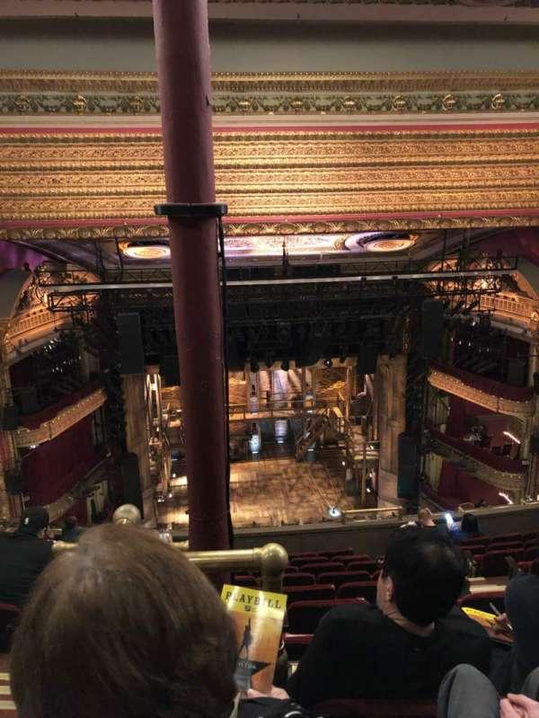 CIBC Theatre, section: Balcony LC, row: K, seat: 407