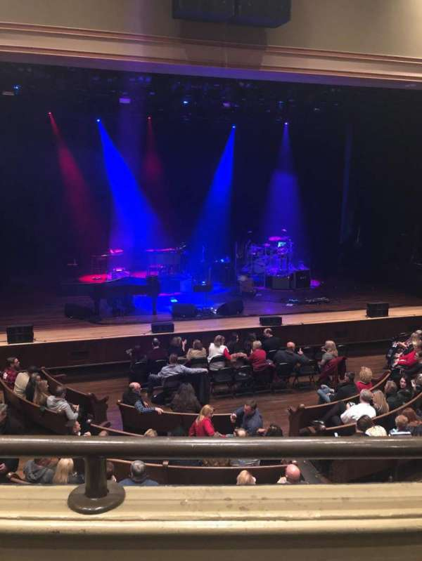 Ryman Auditorium, section: Bal-13, row: A, seat: 6