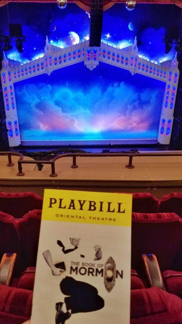 Nederlander Theatre (Chicago), section: LOGE C, row: D, seat: 302