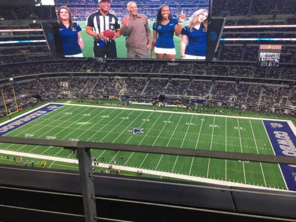 AT&T Stadium, section: 410, row: 1, seat: 9