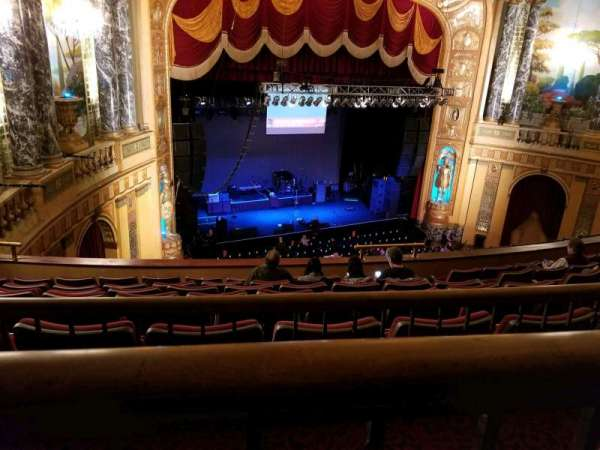 The Fillmore Detroit, section: Lower Balcony 5, row: A, seat: 1