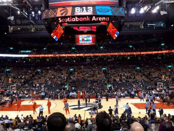 Scotiabank Arena, section: 108, row: 15, seat: 11