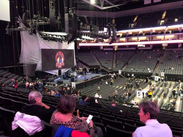 Golden 1 Center, section: 120, row: R, seat: 4