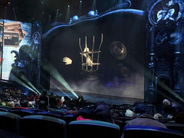 Michael Jackson One Theatre, section: 103, row: P, seat: 9