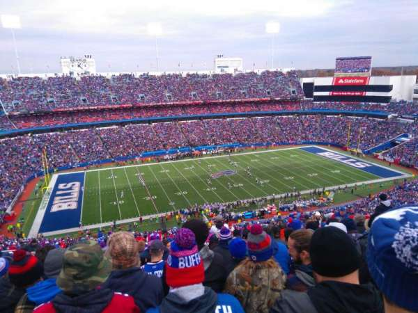 New Era Field, section: 336, row: 36, seat: 12