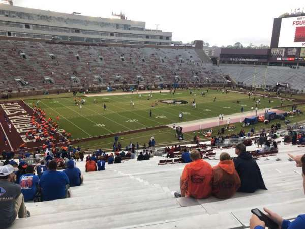 Bobby Bowden Field at Doak Campbell Stadium, section: 14, row: 56, seat: 17