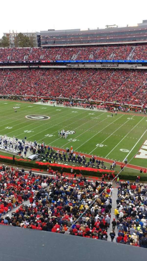 Sanford Stadium , section: 302, row: 1, seat: 30