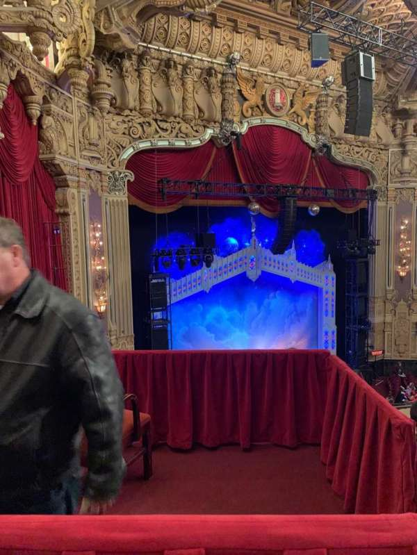 Oriental Theatre, section: Balcony FL, row: 11, seat: 381