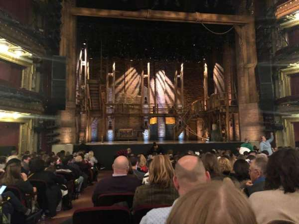 CIBC Theatre, section: Orchestra C, row: R, seat: 101