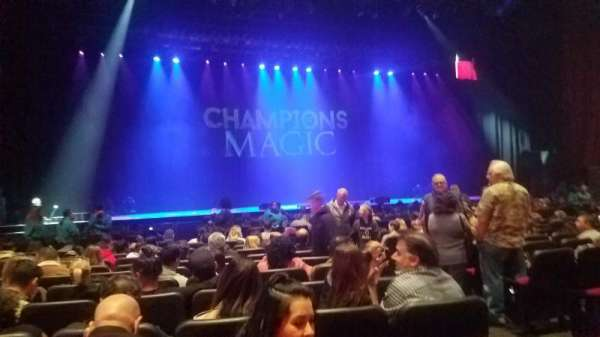 Microsoft Theater, section: Orchestra Center Left, row: L, seat: 403