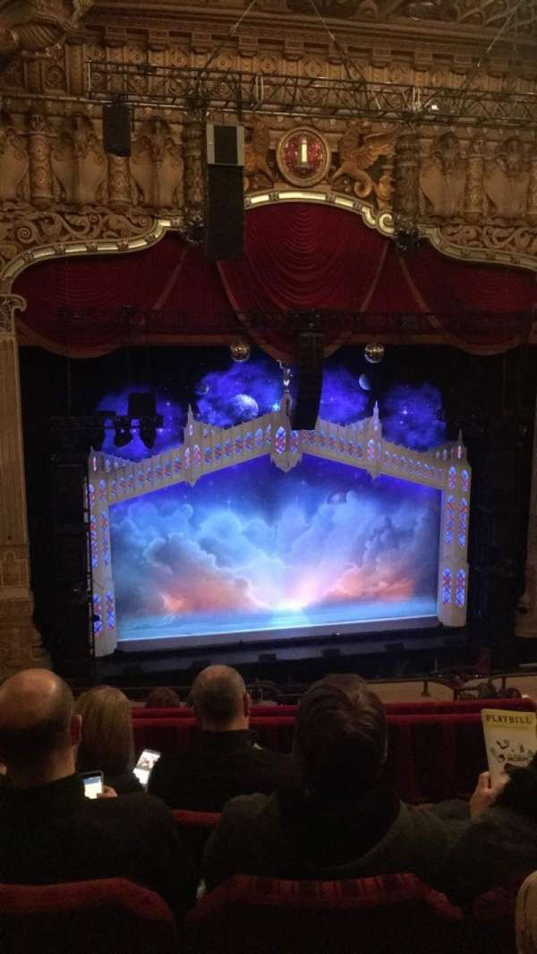 James M. Nederlander Theatre, section: Balcony LC, row: H, seat: 331