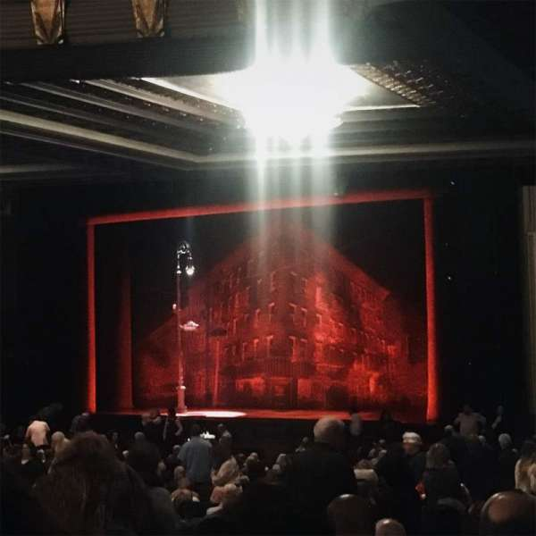Hollywood Pantages Theatre, section: Orchestra Right, row: WW, seat: 14