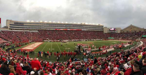 Camp Randall Stadium, section: G, row: 26, seat: 29