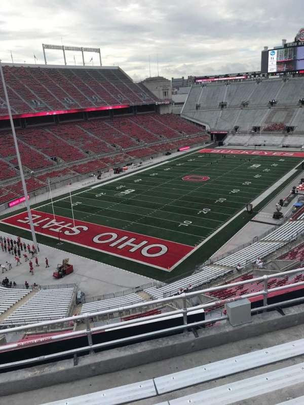 Ohio Stadium, section: 7B, row: 4, seat: 6