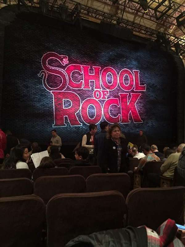 Winter Garden Theatre, section: Orchestra, row: L, seat: 5