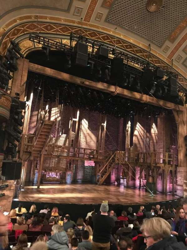 Richard Rodgers Theatre, section: Orchestra L, row: N, seat: 17