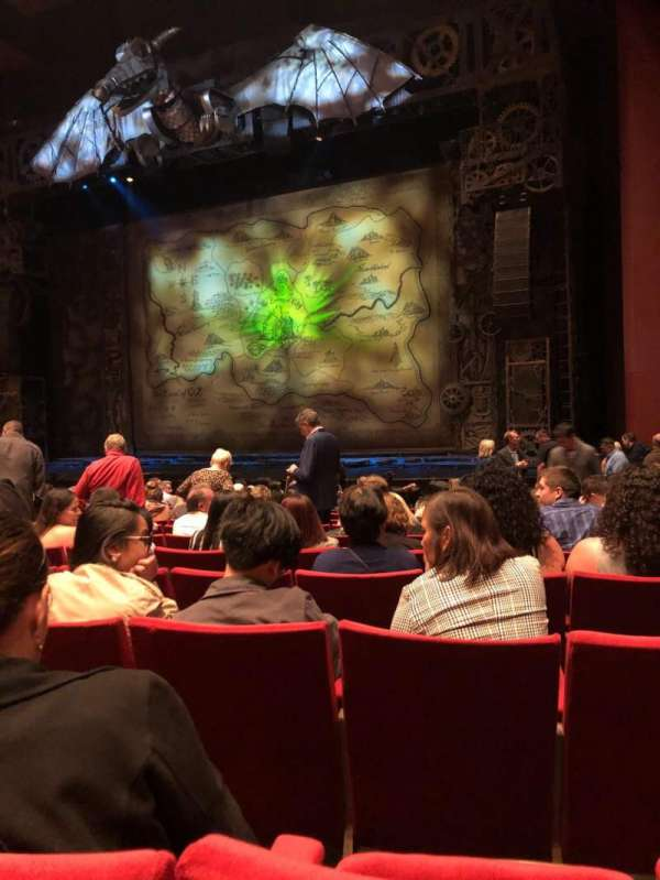 San Diego Civic Theatre, section: Orchestra, row: L, seat: 40