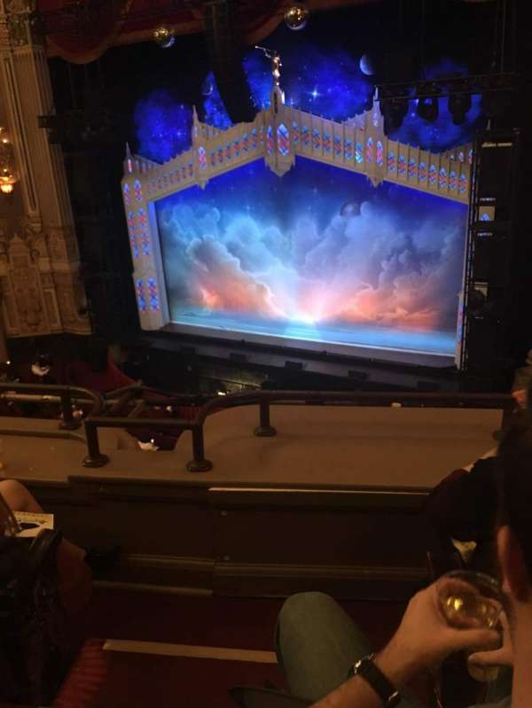 James M. Nederlander Theatre, section: LOGE R, row: C, seat: 350