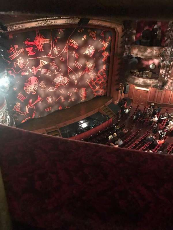 Lyceum Theatre (West End), section: Grand Circlr, row: A, seat: 47