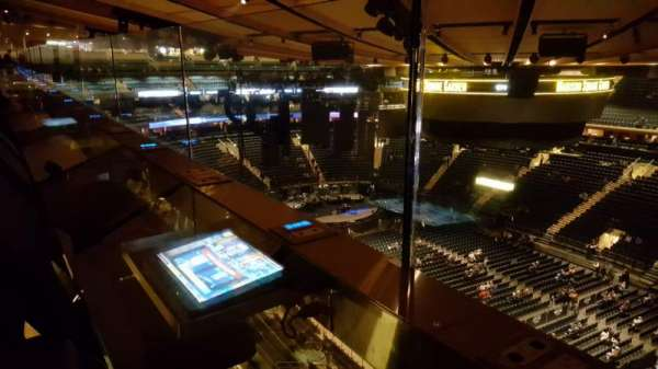 Madison Square Garden, section: 328, row: 1, seat: 1