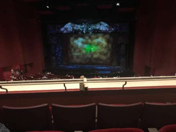 San Diego Civic Theatre, section: Mezzanine, row: R, seat: 18