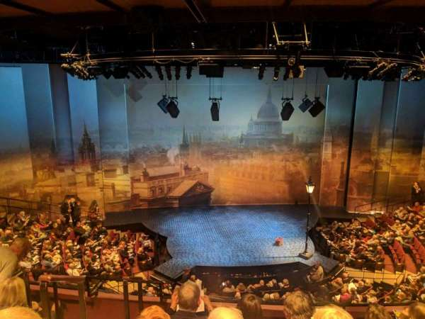 Vivian Beaumont Theater, section: loge, row: D, seat: 302