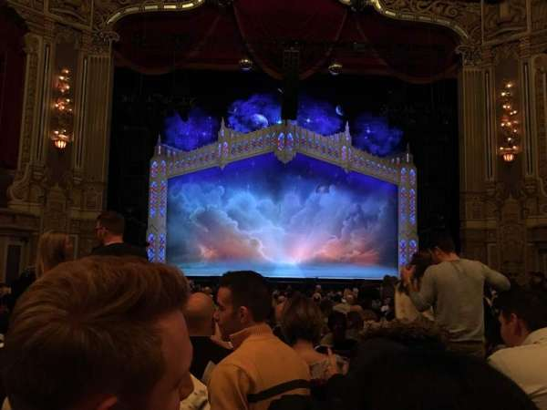 Nederlander Theatre (Chicago), section: Orchestra C, row: V, seat: 106
