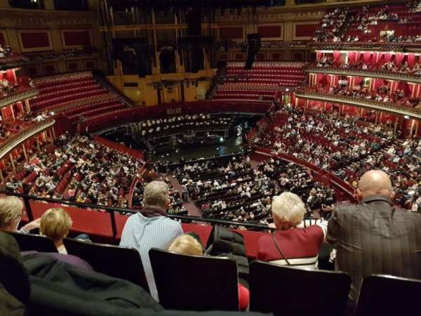 Royal Albert Hall, section: Rausing Circle, row: 3, seat: 72