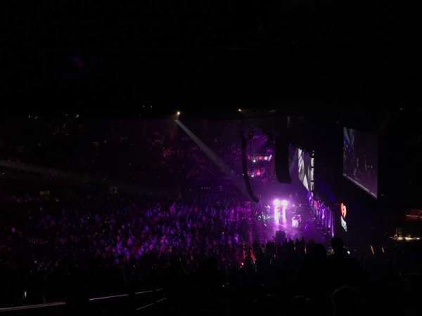 The Forum, section: 211, row: 18, seat: 2