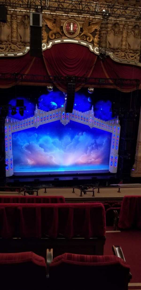 James M. Nederlander Theatre, section: Balcony LC, row: G, seat: 323