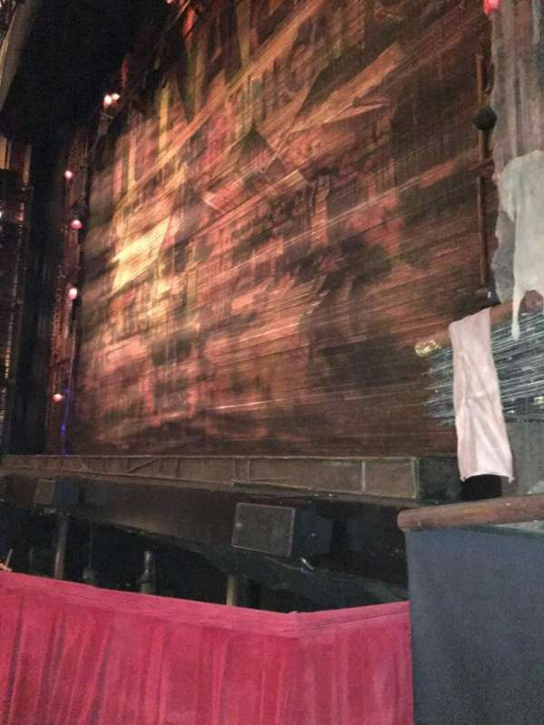 Cadillac Palace Theater, section: ORCHFR, row: A, seat: 8