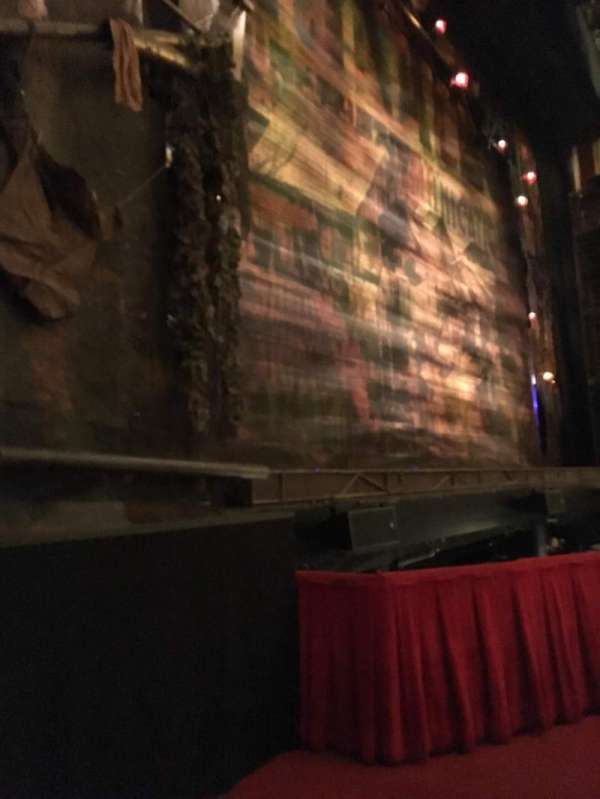 Cadillac Palace Theater, section: ORCGFL, row: B, seat: 13