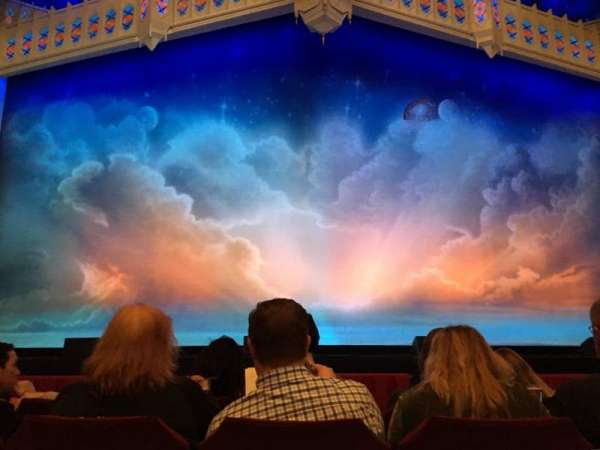 Nederlander Theatre (Chicago), section: Orchestra C, row: D, seat: 107